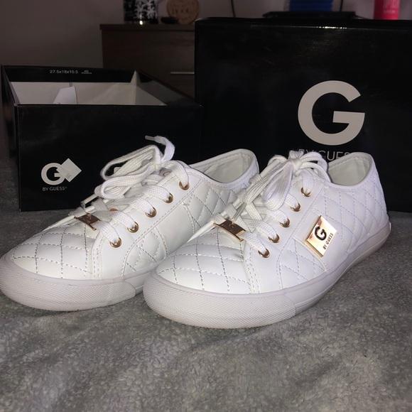 White Guess Sneakers | Poshmark